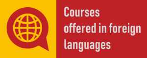 courses offered in foreign languages 2018-2019
