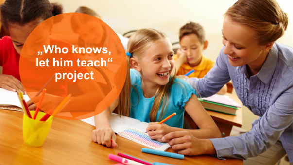 """Project """"Who knows, let him teach"""""""
