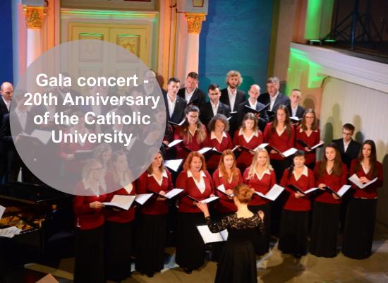 Gala Concert – 20th anniversary of the Catholic University in Ružomberok